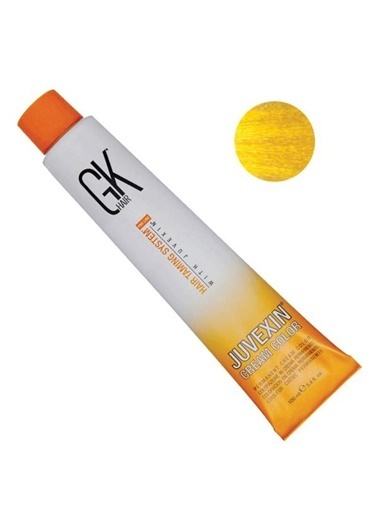 Gk Haır GK Hair Juvexin Cream Color Saç Boyası 100 ml Yellow Renksiz